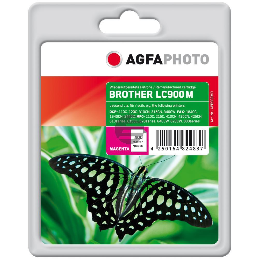 Agfaphoto Tintenpatrone magenta (APB900MD) ersetzt LC-900M