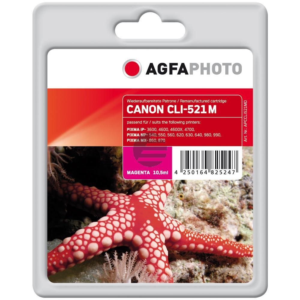 Agfaphoto Tinte Magenta (APCCLI521MD)