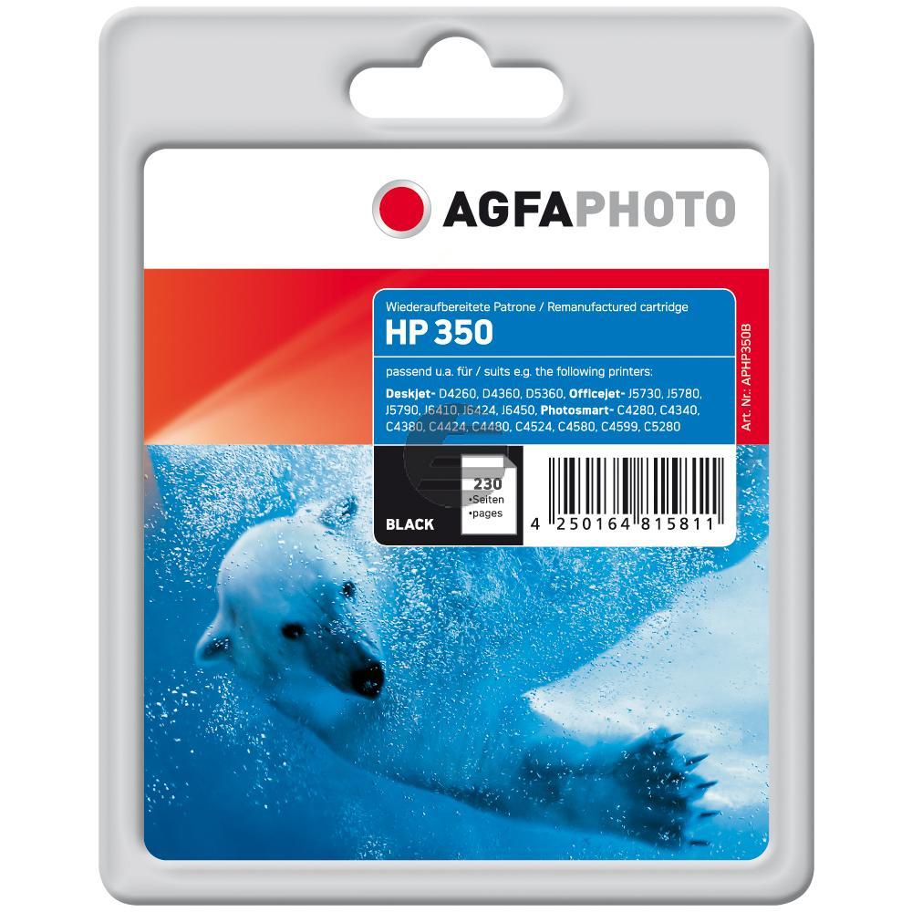 Agfaphoto Tintendruckkopf schwarz (APHP350B)