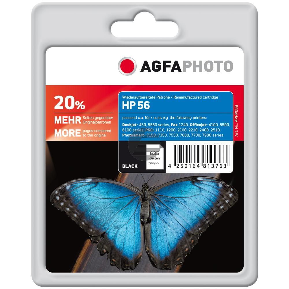 Agfaphoto Tintendruckkopf schwarz HC (APHP56B)