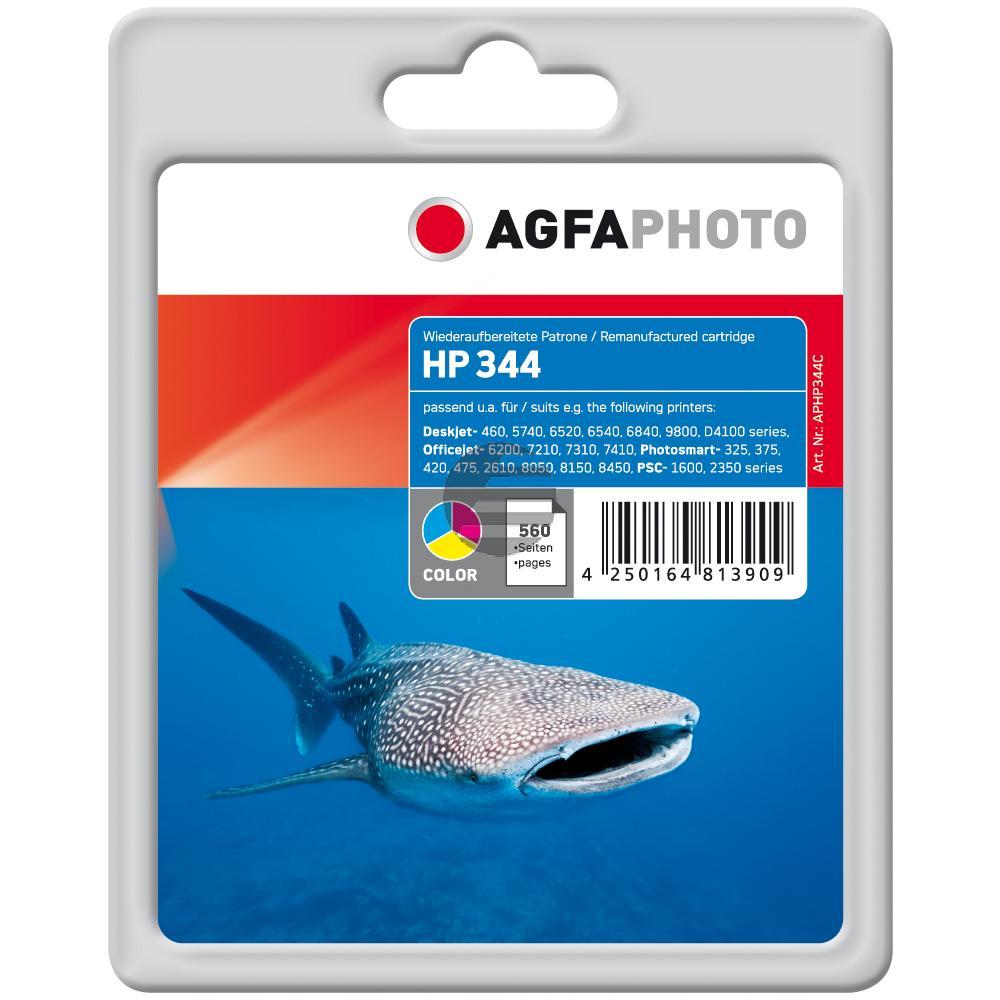 Agfaphoto Tintendruckkopf cyan/gelb/magenta HC (APHP344C)