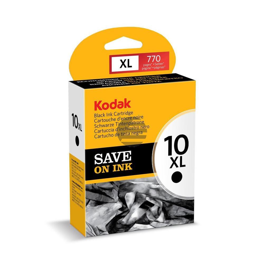 Kodak Tinte schwarz HC (3949922, 10XL)