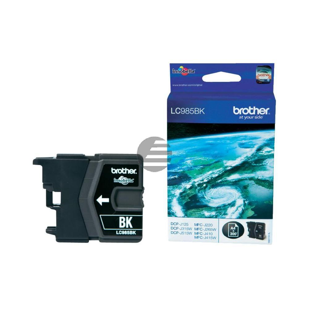 Brother Tinte schwarz (LC-985BK)