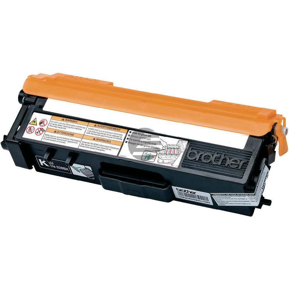 Brother Toner-Kit schwarz HC plus (TN-328BK)