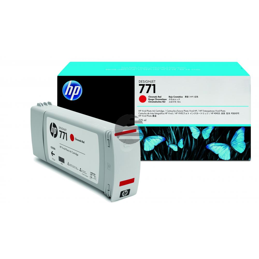 HP Tinte chromatic rot (CE038A, 771)