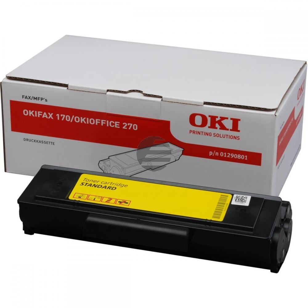 OKI Toner-Kit schwarz (01290801)