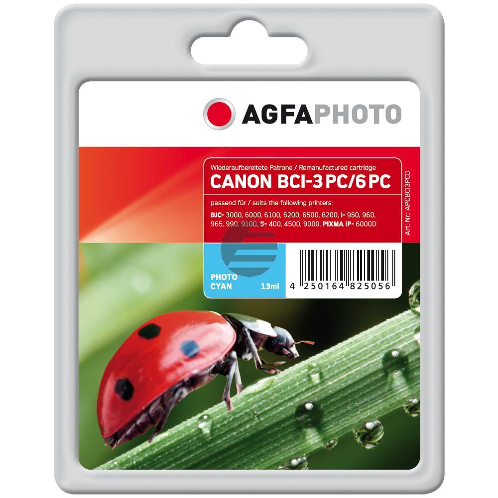 Agfaphoto Tintenpatrone Photo-Tinte Photo cyan (APCBCI3PCD)