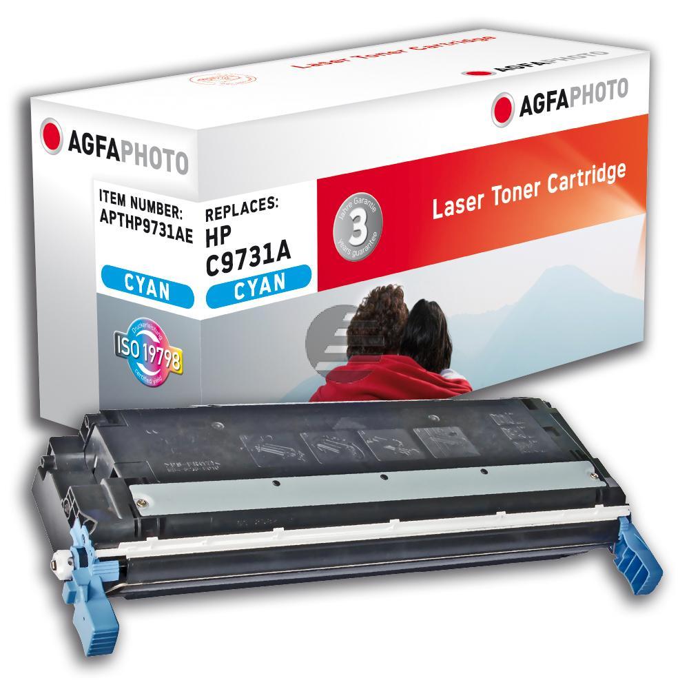 Agfaphoto Toner-Kartusche cyan (APTHP9731AE) ersetzt C9731A (645A), 6829A004 (EP-86C)