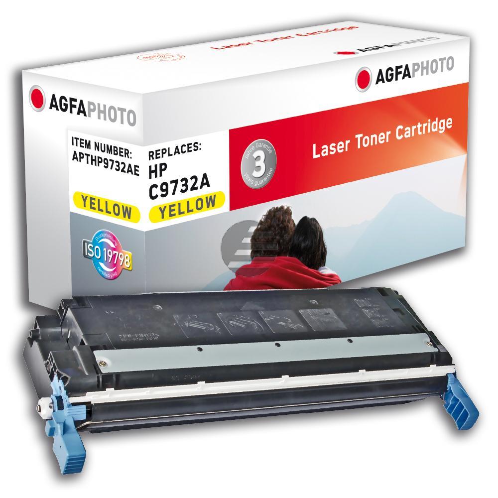 Agfaphoto Toner-Kartusche gelb (APTHP9732AE) ersetzt C9732A (645A), 6827A004 (EP-86Y)