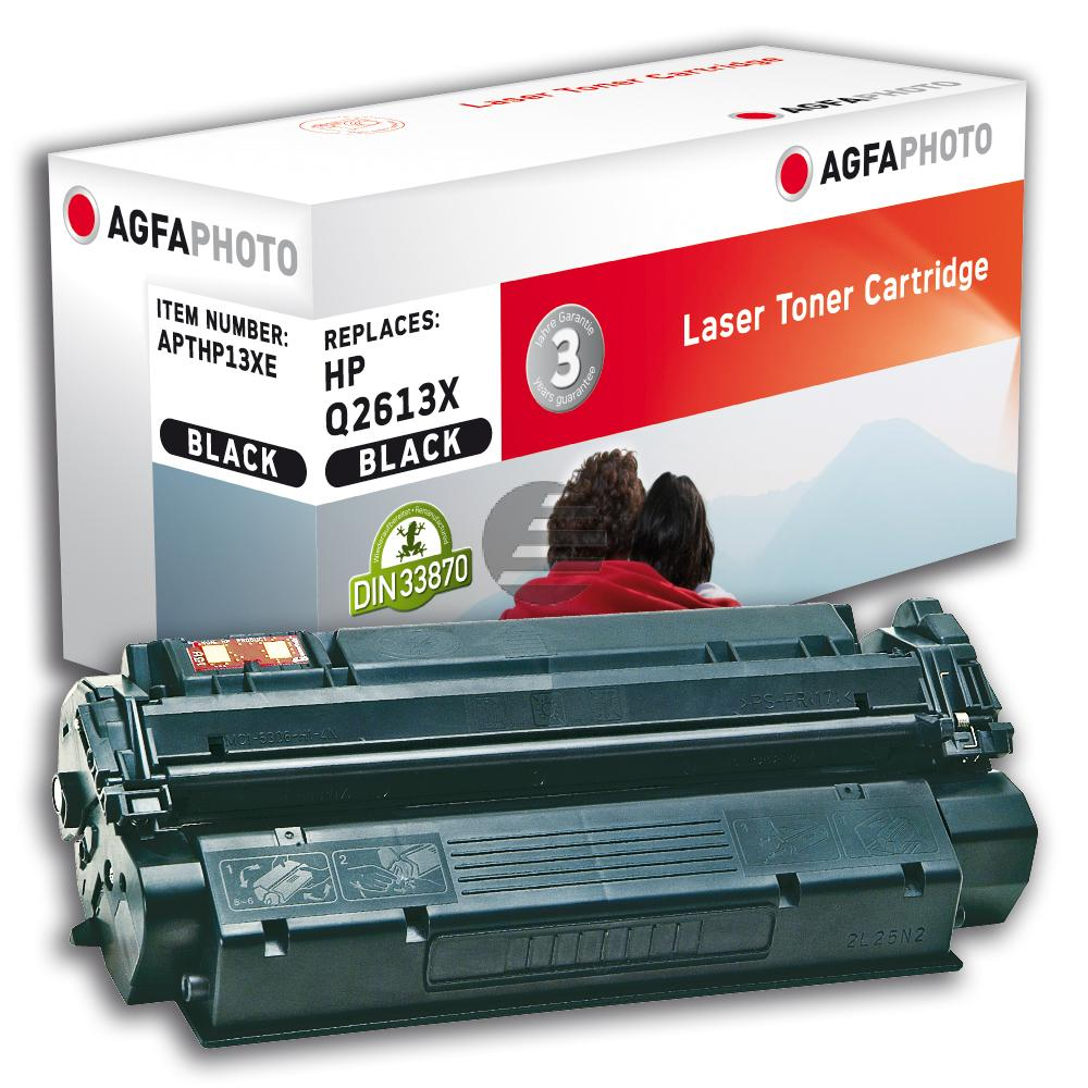 Agfaphoto Toner-Kartusche schwarz HC (APTHP13XE) ersetzt 13X