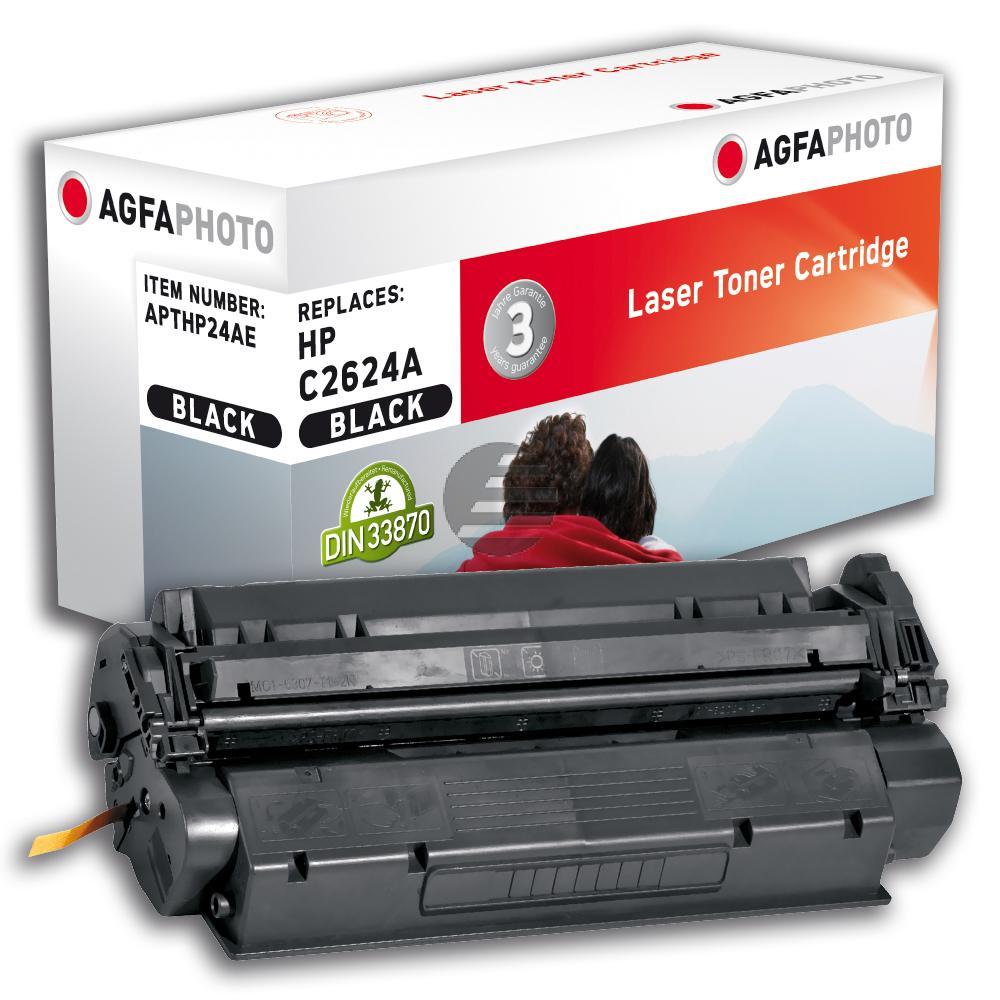 Agfaphoto Toner-Kartusche schwarz (APTHP24AE) ersetzt 24A