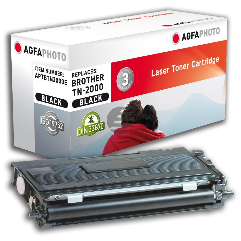 Agfaphoto Toner-Kit schwarz (APTBTN2000E)