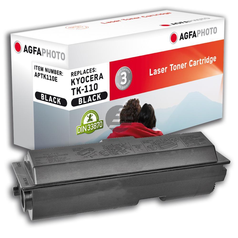Agfaphoto Toner-Kit schwarz HC (APTK110E) ersetzt 1T02FV0DE0 (TK-110)