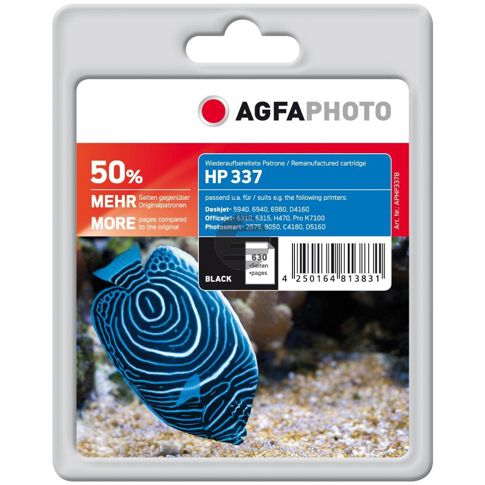 Agfaphoto Tintendruckkopf schwarz HC (APHP337B) ersetzt C9364EE / 337