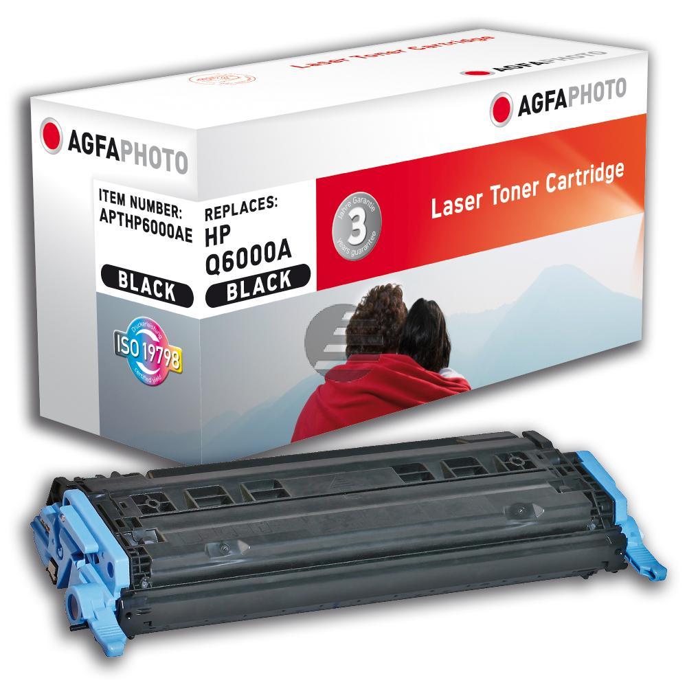 Agfaphoto Toner-Kartusche schwarz (APTHP6000AE) ersetzt Q6000A / 124A