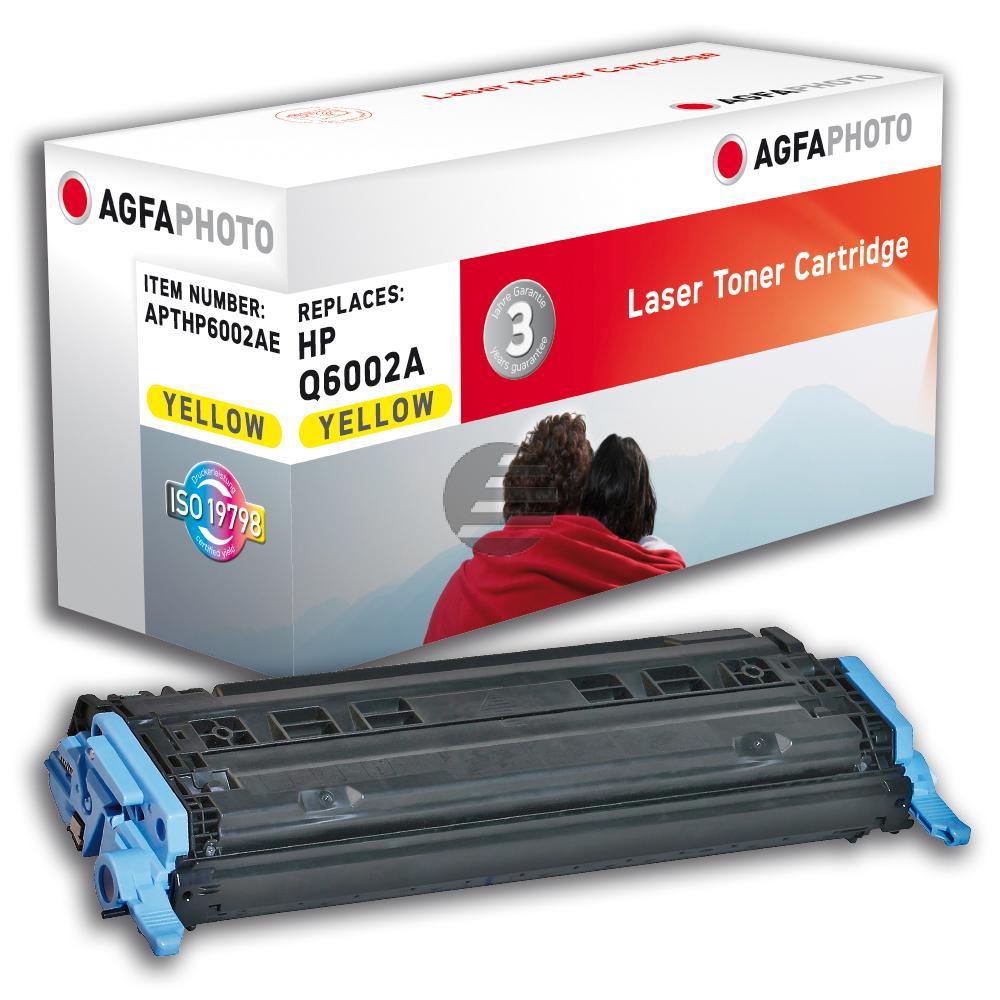 Agfaphoto Toner-Kartusche gelb (APTHP6002AE) ersetzt Q6002A / 124A