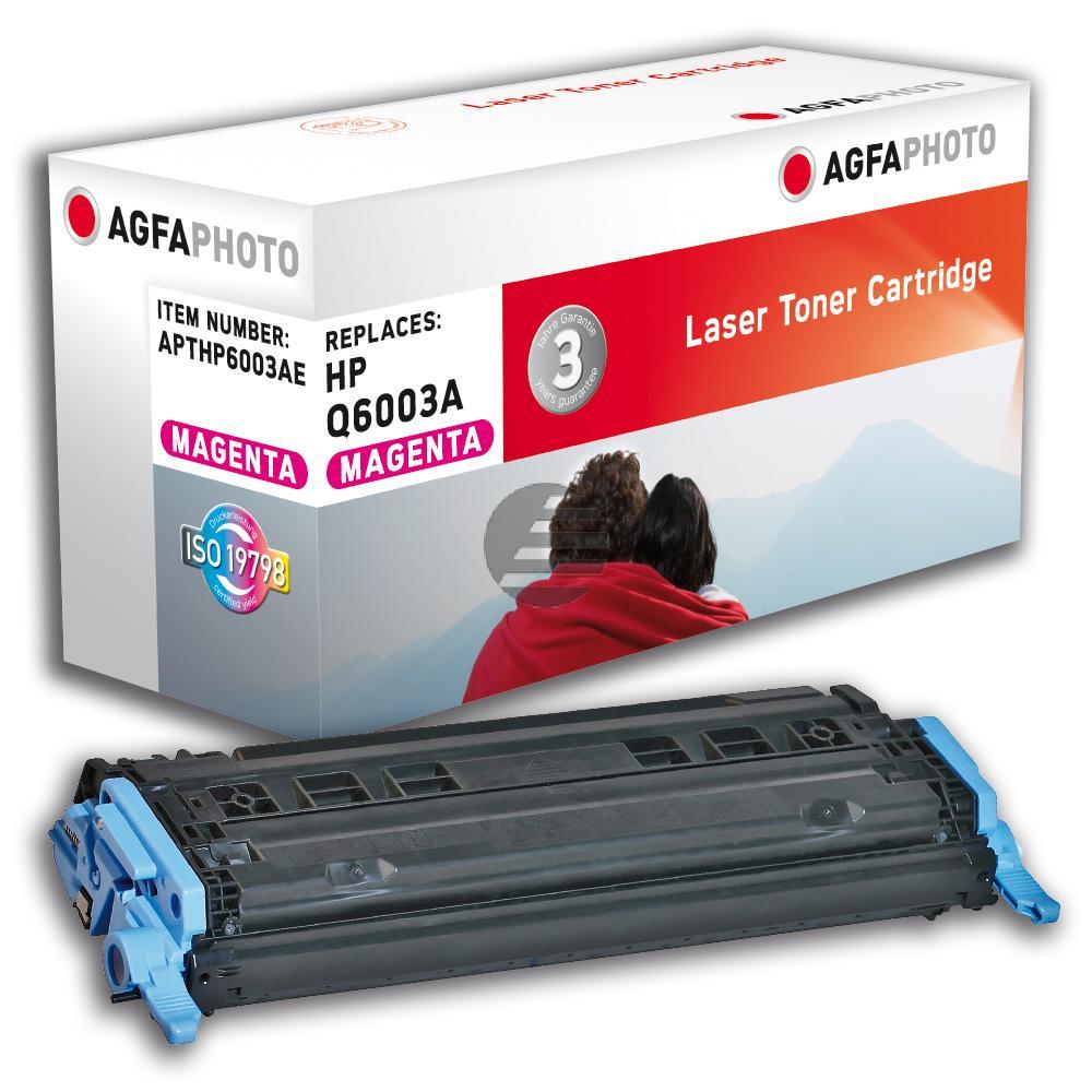 Agfaphoto Toner-Kartusche magenta (APTHP6003AE) ersetzt Q6003A / 124A