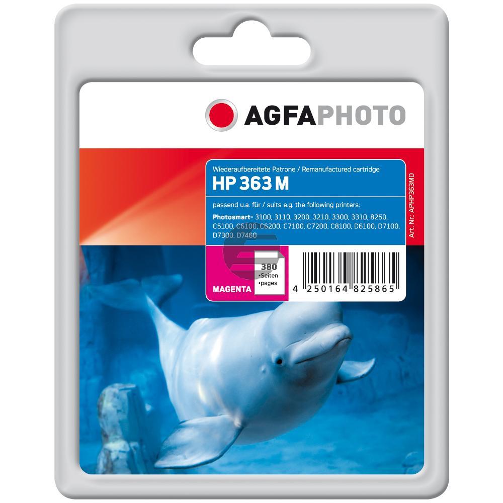 Agfaphoto Tintenpatrone magenta (APHP363MD) ersetzt C8772EE / 363