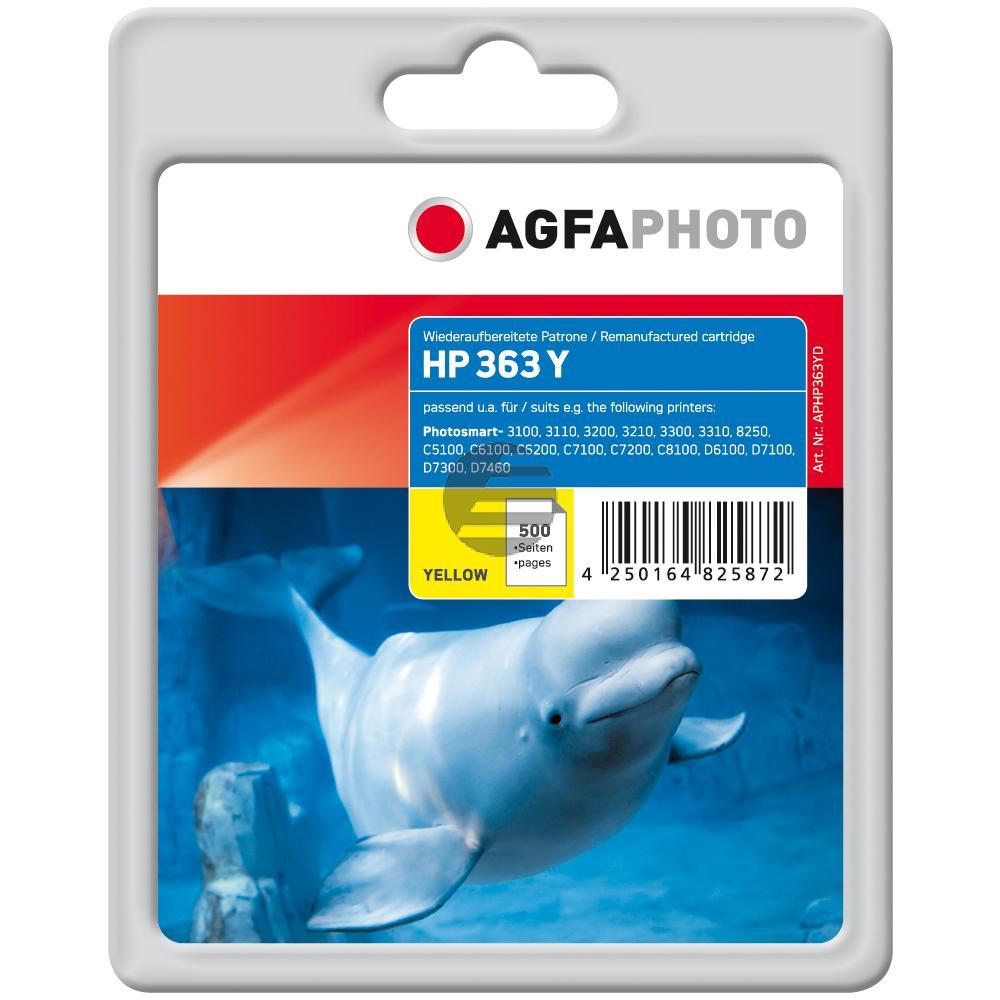 Agfaphoto Tintenpatrone gelb (APHP363YD) ersetzt C8773EE / 363