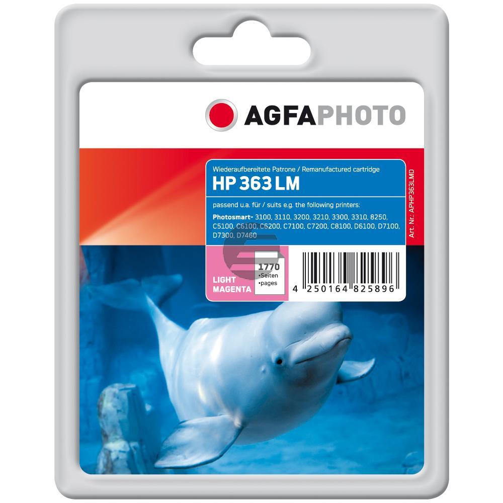 Agfaphoto Tintenpatrone magenta light (APHP363LMD) ersetzt C8775EE / 363