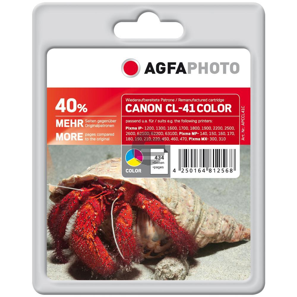 Agfaphoto Tintenpatrone gelb cyan magenta (APCCL41C)