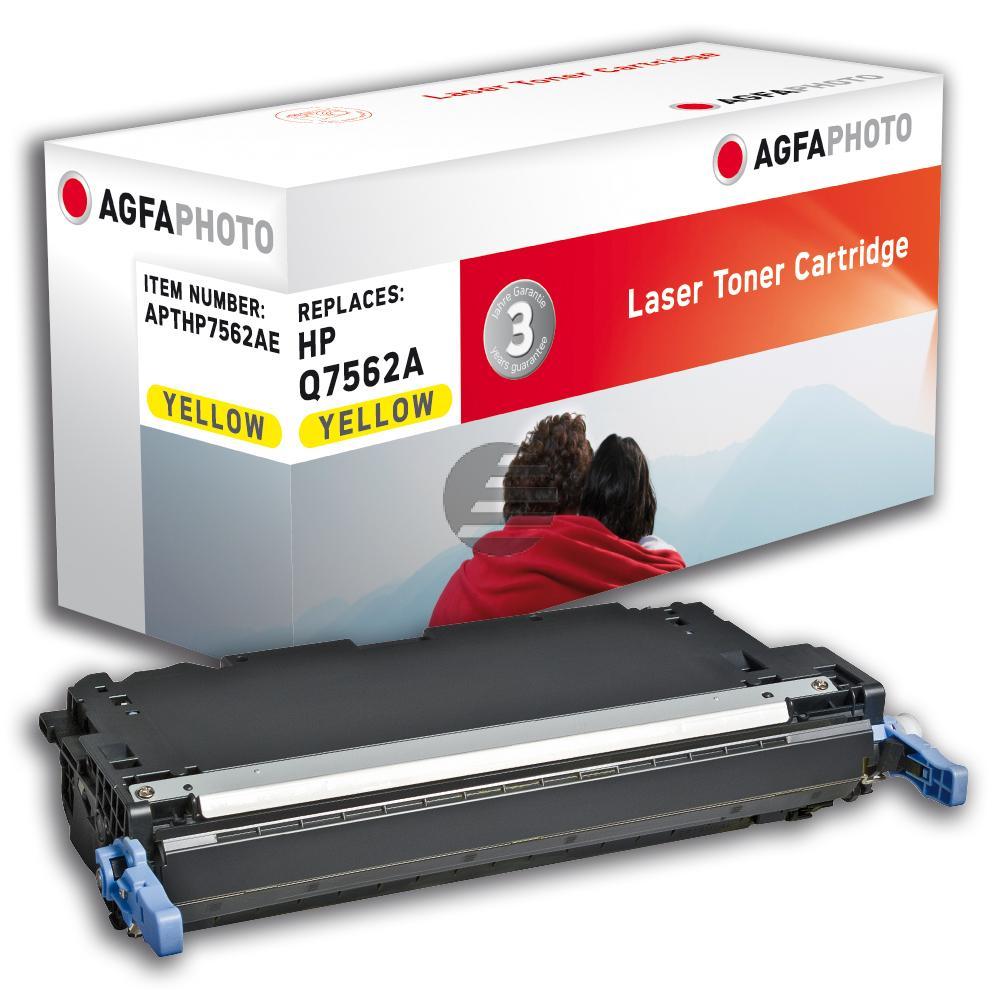 Agfaphoto Toner-Kartusche gelb (APTHP7562AE) ersetzt Q7562A / 314A