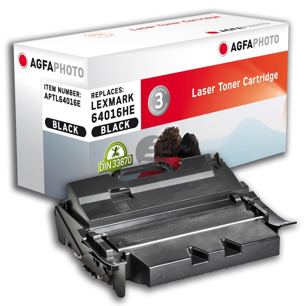 Agfaphoto Toner-Kartusche schwarz HC (APTL64016E) ersetzt 64035HA
