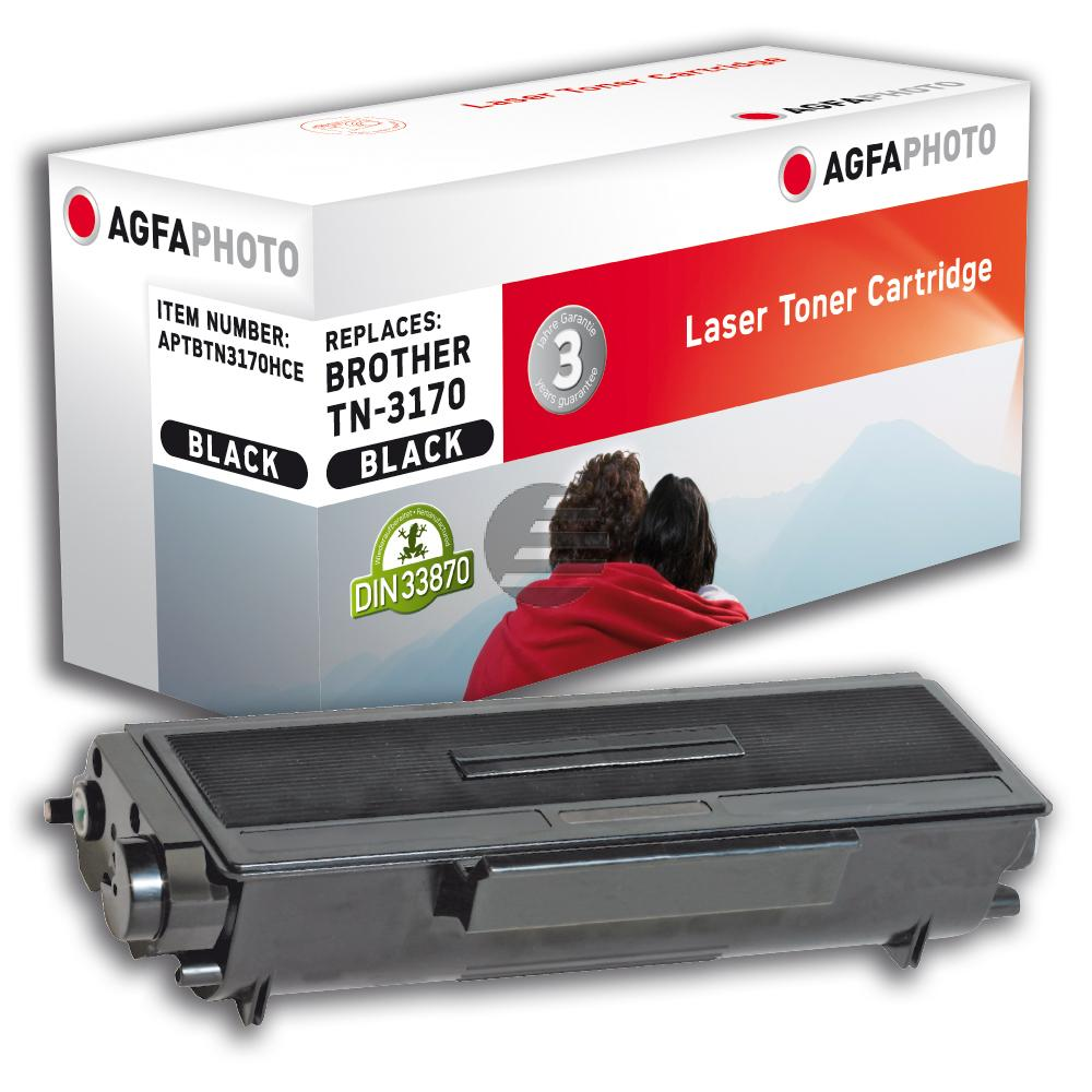 Agfaphoto Toner-Kit schwarz HC plus (APTBTN3170HCE)