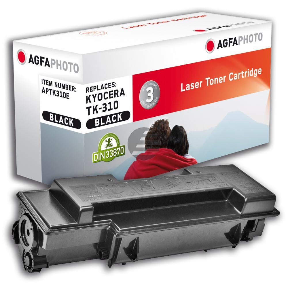 Agfaphoto Toner-Kit schwarz (APTK310E) ersetzt 1T02F80EU0 / TK-310