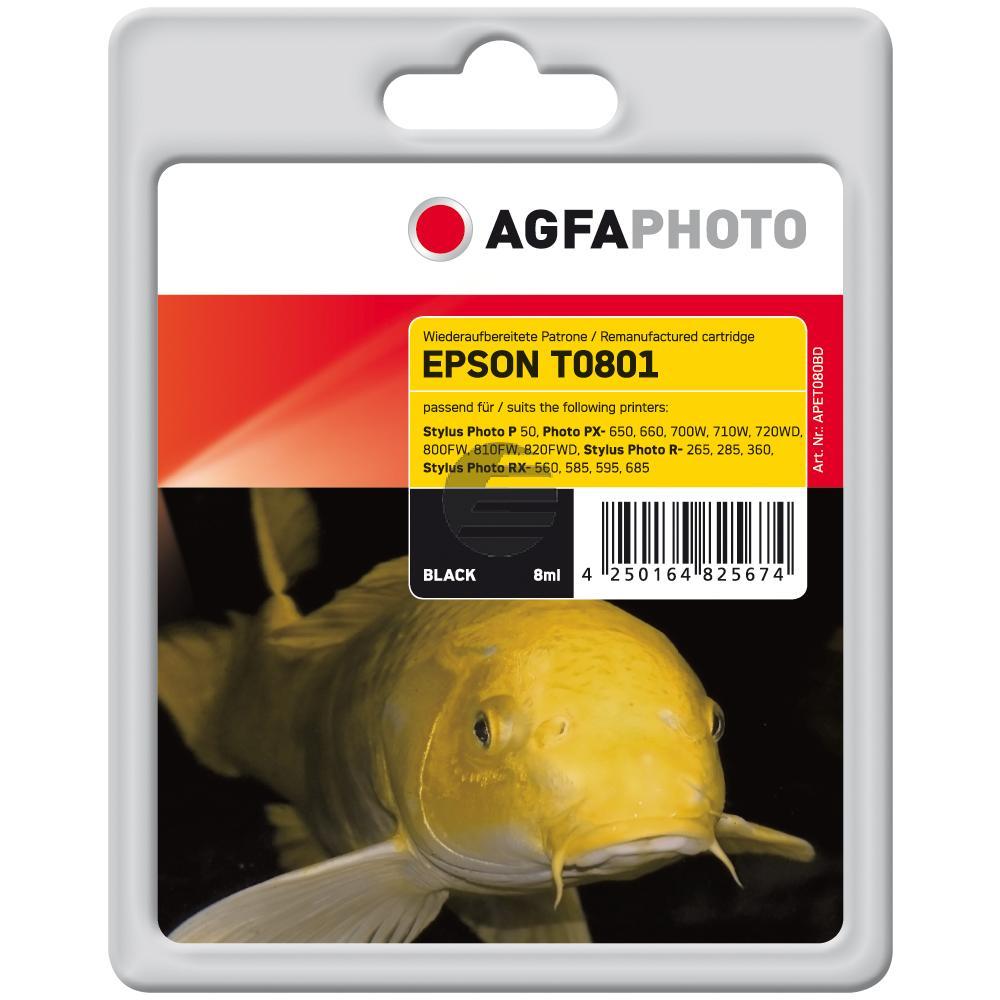 Agfaphoto Tintenpatrone schwarz (APET080BD)