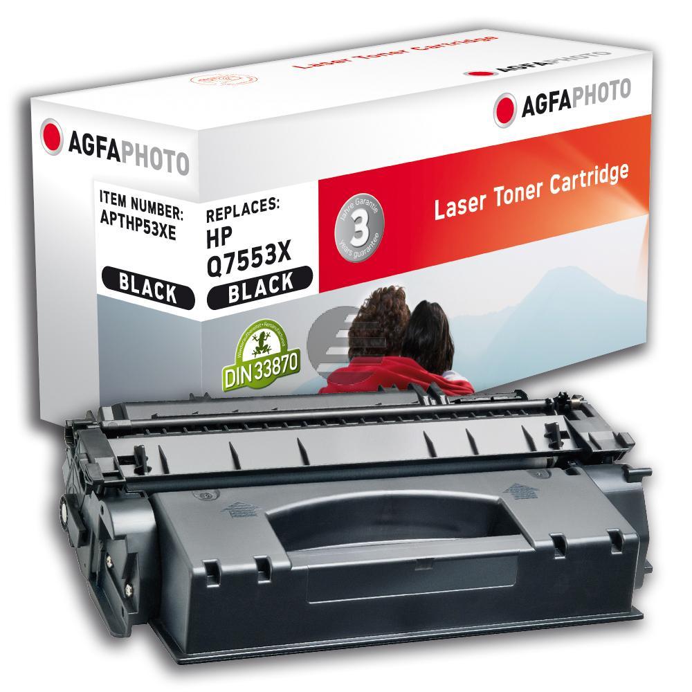 Agfaphoto Toner-Kartusche schwarz HC (APTHP53XE)