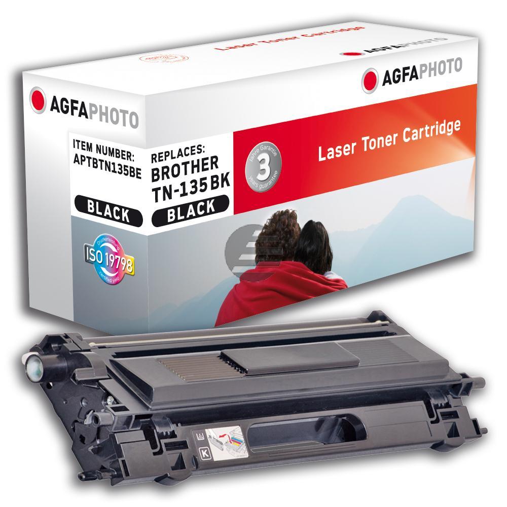 Agfaphoto Toner-Kit schwarz HC (APTBTN135BE) ersetzt TN-135BK