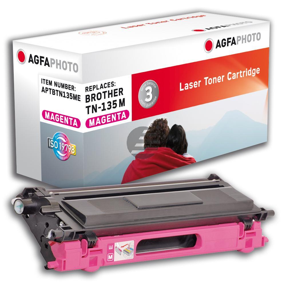 Agfaphoto Toner-Kit magenta HC (APTBTN135ME) ersetzt TN-135M