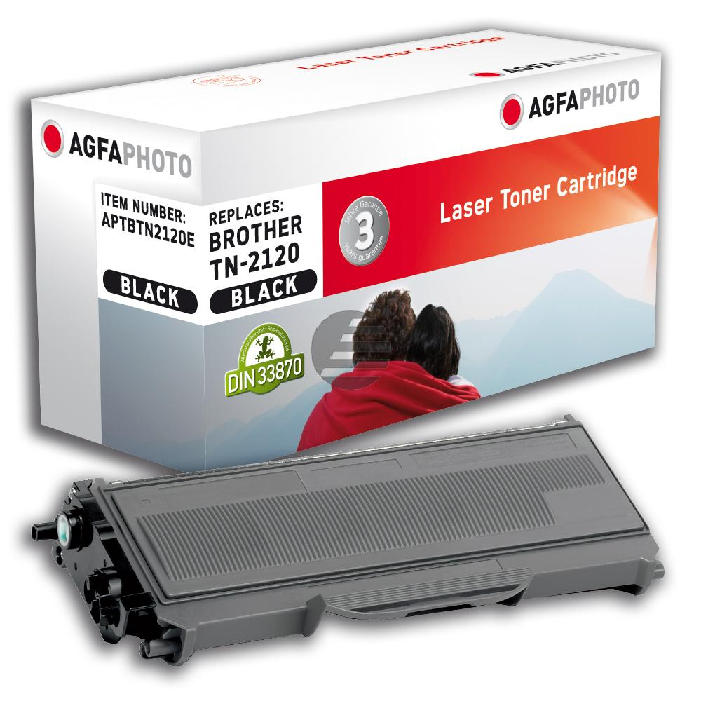 Agfaphoto Toner-Kit schwarz HC (APTBTN2120E)