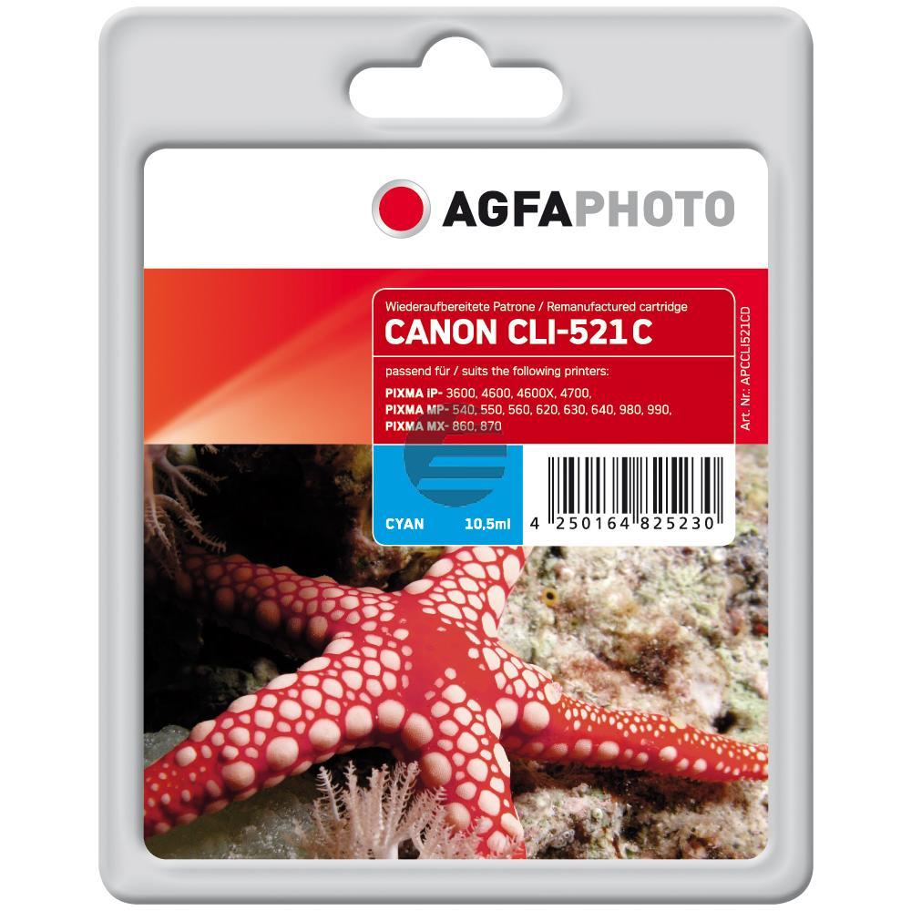 Agfaphoto Tinte Cyan (APCCLI521CD)