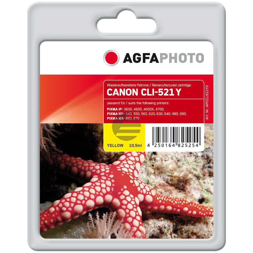 Agfaphoto Tinte gelb (APCCLI521YD)