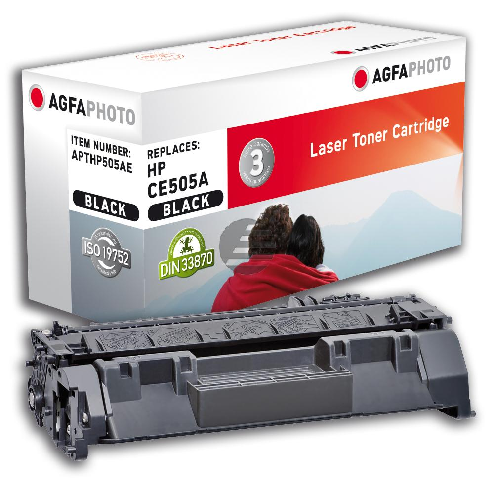 Agfaphoto Toner-Kartusche schwarz (APTHP505AE)