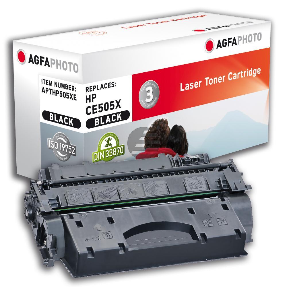 Agfaphoto Toner-Kartusche schwarz HC (APTHP505XE)