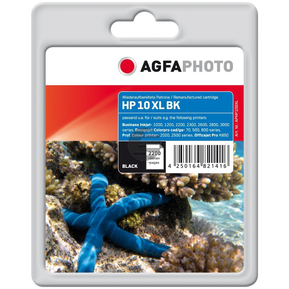 Agfaphoto Tintenpatrone schwarz HC (APHP10BXL)