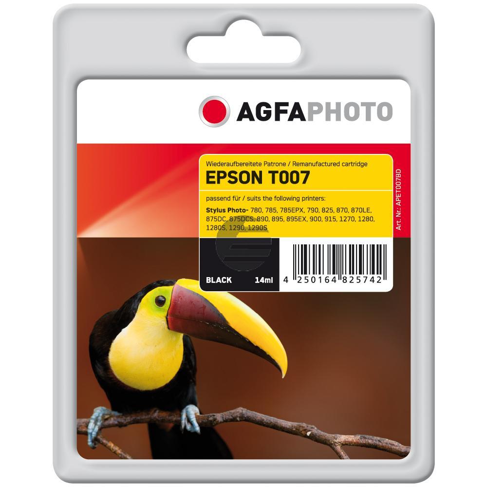 Agfaphoto Tintenpatrone schwarz (APET007BD)