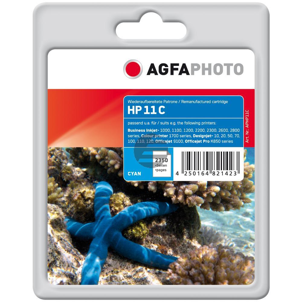 Agfaphoto Tintenpatrone cyan HC (APHP11C)