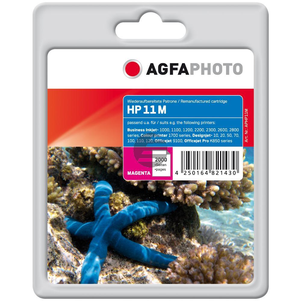Agfaphoto Tintenpatrone magenta HC (APHP11M)