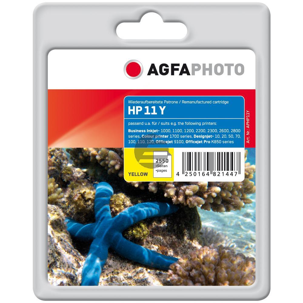 Agfaphoto Tintenpatrone gelb HC (APHP11Y)