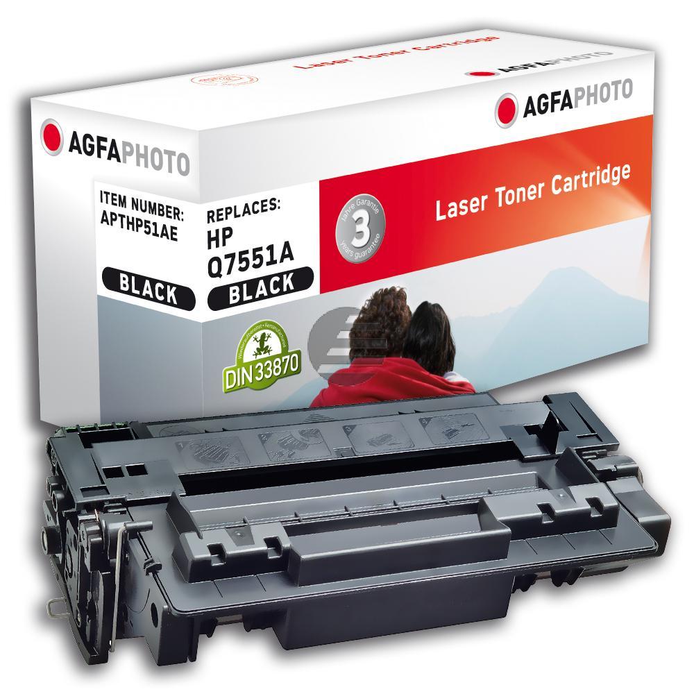 Agfaphoto Toner-Kartusche schwarz (APTHP51AE)