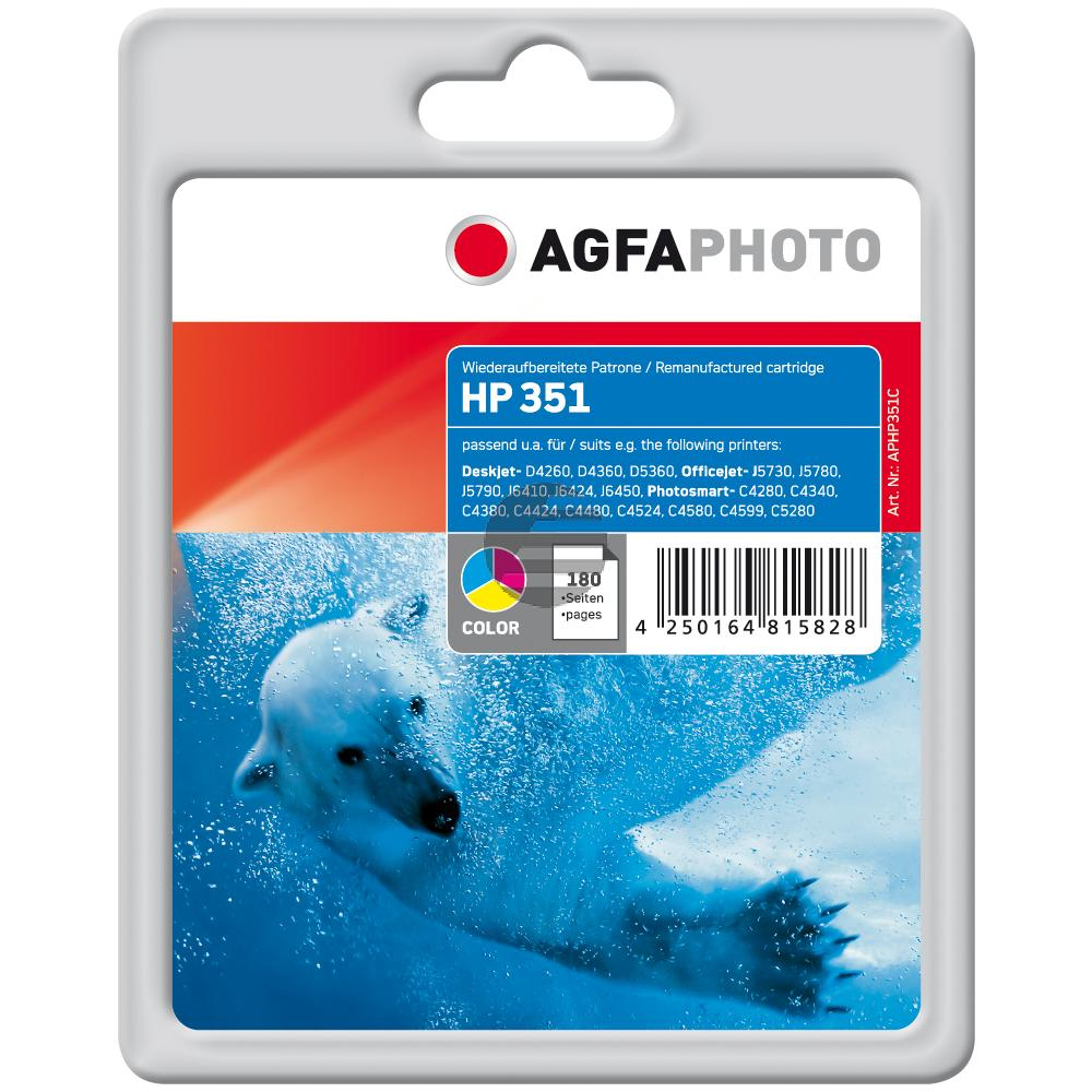 Agfaphoto Tintendruckkopf Cyan/gelb/Magenta (APHP351C)
