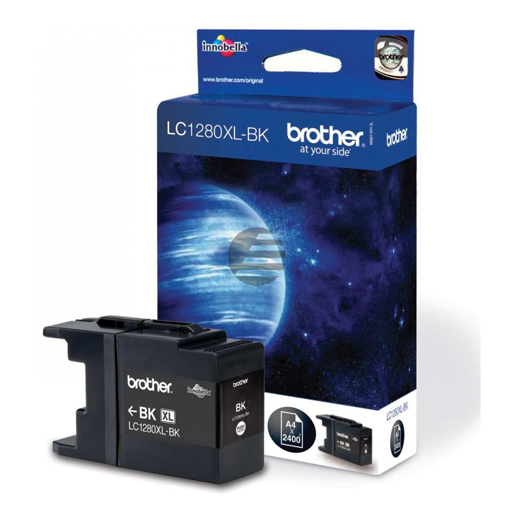 Brother Tinte Blister schwarz HC (LC-1280XLBK)