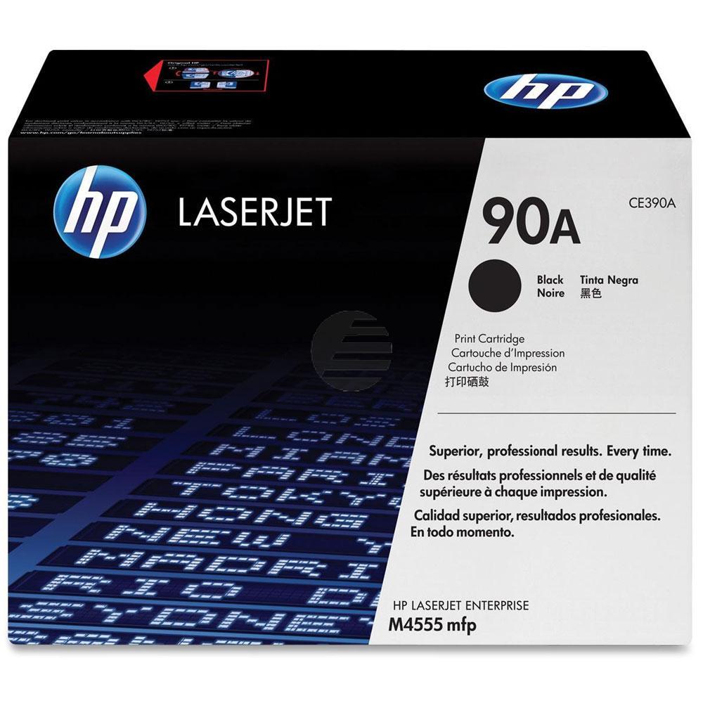 HP Toner-Kartusche schwarz (CE390A, 90A)