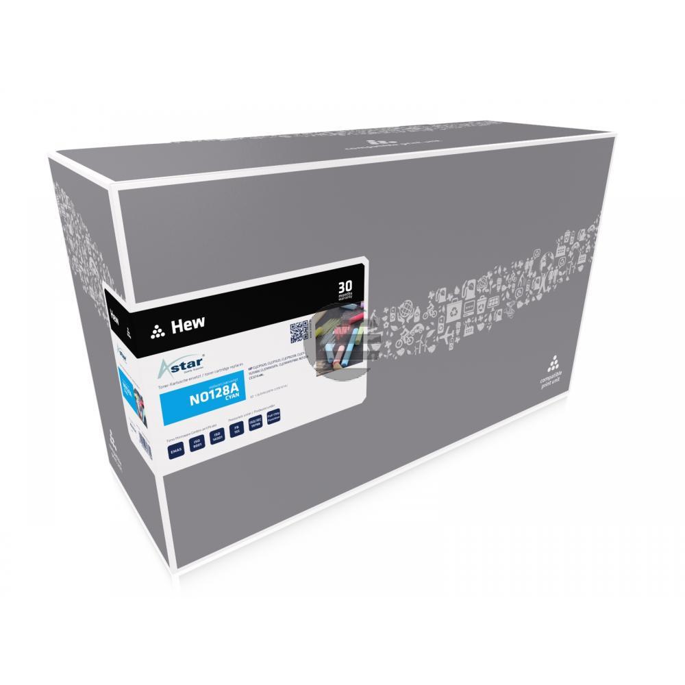 Astar Toner-Kartusche cyan (AS14321) ersetzt CE321A / 128A