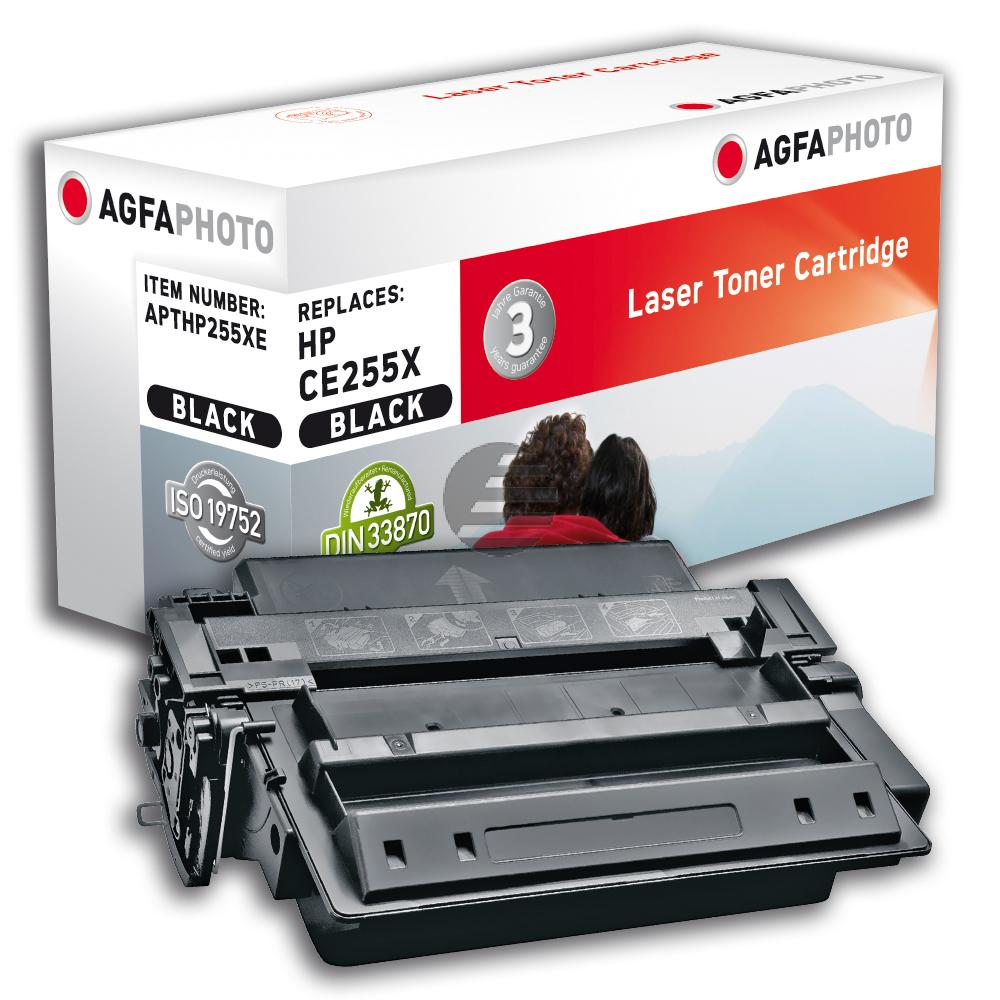 Agfaphoto Toner-Kartusche schwarz HC (APTHP255XE)