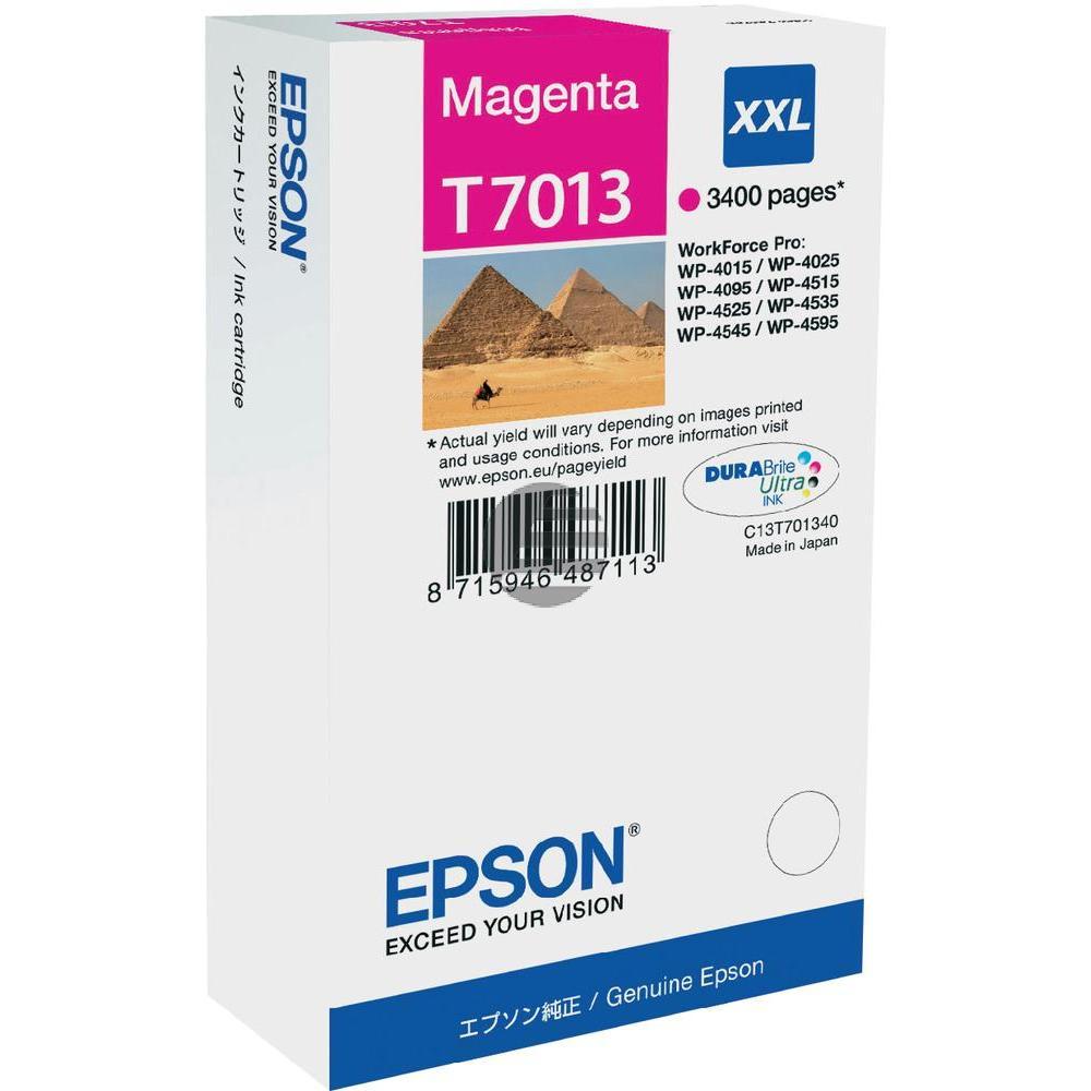 Epson Tintenpatrone magenta HC plus (C13T70134010, T7013)
